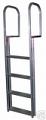 4 step stainless steel pier ladder